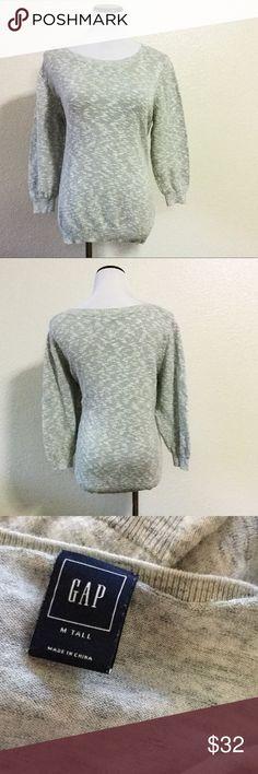 Grey Gap sweater Gorgeous grey sweater by Gap. Size medium tall. No flaws. GAP Sweaters
