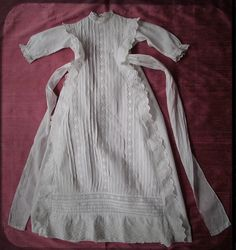 Fabulous Antique French Christening Gown by @UnPetitChateau on Etsy, $185.00