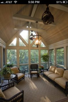 Inspiration for our screened porch