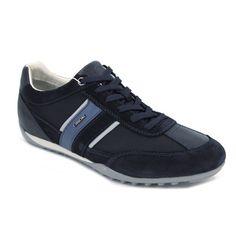 Geox U Wells C U52T5C Zapatillas deportivas de estilo casual para caminar cómodo y con estilo. Están hechas con pieles y materiales textiles para que tengamos una buena transpiración. Plantilla interior extraible y suela externa de goma flexible con agarre y transpirable.