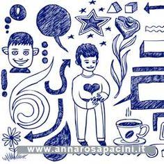 Anche i disegni possono rivelare molto di ciò che siamo, di ciò che proviamo, dei nostri talenti. Grafologia, interpretazioni, l'autoritratto e i talenti creativi, linguaggi da esplorare. #Podcast, #grafologia, significato scrittura.  http://www.annarosapacini.it/?p=417