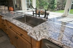 Captivating Blue Flower Granite Countertops   Google Search