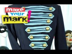 On this episode of Make Your Mark you'll learn to make a military style jacket using a thrift store blazer and some basic sewing skills.  This project takes a bit of time, but it's well worth it and easy to customize to your taste.  Change it up and make it your own!  Videography by Carrie Thompson.