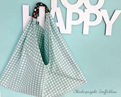 Oktoberprojekt Stoffabbau.. endlich die Origami Market Bag