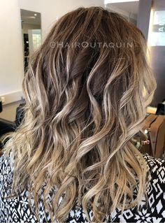 Balayage with root fade 💕💕 #balayage #rootfade #blonde #longhair #haircolour #northperth #hairsalon #hairdresser