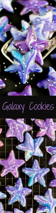 These are BEAUTIFUL and not very hard to make! via SugarSpunRun(Baking Cookies) Cookie Desserts, No Bake Desserts, Just Desserts, Cookie Recipes, Delicious Desserts, Dessert Recipes, Baking Desserts, Desserts Menu, Cookie Ideas