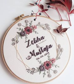 Hand Embroidery Videos, Wedding Embroidery, Embroidery Flowers Pattern, Simple Embroidery, Hand Embroidery Stitches, Learn Embroidery, Embroidery Hoop Art, Hand Embroidery Designs, Crewel Embroidery