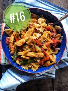 Top Twenty Skinnyish Dish Recipes of 2019 Easy Baked Chicken, Baked Chicken Breast, Biscuit And Gravy Bake, Creamy White Chicken Chili, Cheeseburger Pasta, Slow Cooker Lasagna, What Recipe, French Dip, Chicken Fajitas