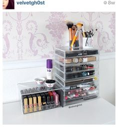 Muji Makeup Organizer Fascinating Muji Beauty Storage Inspiration Httpwwwmagimaniadebeauty Design Decoration