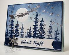 Wonderland Christmas Card by Jari - Cards and Paper Crafts at Splitcoaststampers