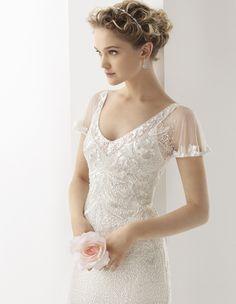 Gorgeous Lace Wedding Dresses by Rosa Clara | Rustic Folk Weddings