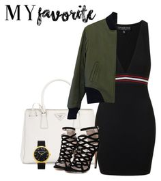 """My favourite feature"" by rubymockingjay ❤ liked on Polyvore featuring Prada, Topshop and rag & bone"