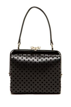 RED Valentino Dot Framed Handbag @Pascale Lemay Lemay De Groof