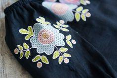 Вишиванка для дівчинки. Детская вышиванка. Girl's embroidered blouse #garnokvit