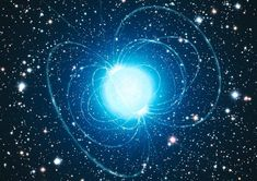 According to astronomers at the University of Washington, what was believed to be a supernova (named SN is instead a binary star system with a neutron star that just turned on for the firs. Interstellar, Black Hole Theory, Neutron Star, Space Facts, Star Cluster, Magnetic Field, Light Year, Nebulas, Planets
