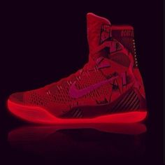 """Kobe IX (9) Elite """"All-Red"""" -More Pictures"""