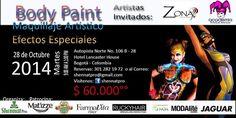 Seminario de Maquillaje Artístico y Body Paint