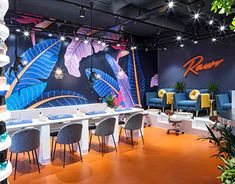 Beauty Salon design at Rathbone Place for Rawr beauty