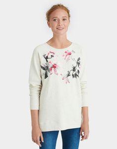 Joules Irene Printed Sweatshirt