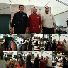 Presentación de la nueva Dorada Especial Trigo. Un gran equipo de grandes cocineros Canarios.