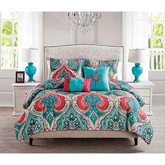 Shop Wayfair for Bedding Sets to match every style and budget. Enjoy Free Shipping on most stuff, even big stuff. Casa Real, Quilt Sets, My New Room, Comforter Sets, Bed Spreads, Duvet Cover Sets, Set Cover, Luxury Bedding, Bed Sheets