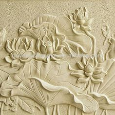 Source lotus flower stone relief for decoration on m.alibaba.com