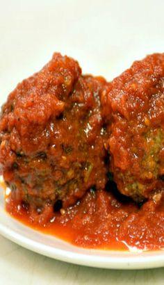 Rao's Meatballs With Marinara Sauce Recipe Sauce Recipes, Pasta Recipes, Beef Recipes, Cooking Recipes, Raos Sauce Recipe, Maranara Sauce Recipe, Barbecue Recipes, Cooking Tips, Recipes