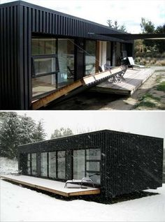 24 Ideas container house design awesome for Awesome Genius Shipping Container Home Design Ideas . Prefab Shipping Container Homes, Shipping Container Home Designs, Container House Design, Tiny House Design, Container Houses, Shipping Container Cafe, Shipping Containers, Container Pool, Storage Container Homes