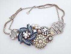 DIY Antique Brooch Jewelry