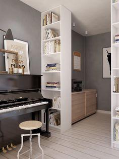 Merveilleux St Petersburg Apartment Piano Nook Mehr