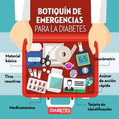 Botiquín de emergencias #diabetes