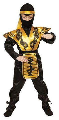 Deluxe Ninja Children's Costume Set - Overstock™ Shopping - Big Discounts on Dress Up America Boys' Costumes