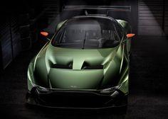 "Vulcan carbon-fibre racing car signals ""next generation"" for Aston Martin."