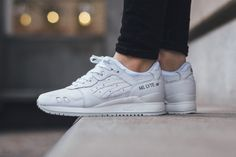 """ASICS Drops a GEL-Lyte III """"White/White"""" That's Clean AF"""