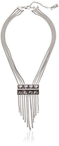 """Kenneth Cole New York """"On The Rocks"""" Geometric Faceted Bead Fringe Y-Shaped Necklace, 17''+3'' Extender Kenneth Cole New York  - $98.00  www.teelieturner.com #DateNight"""