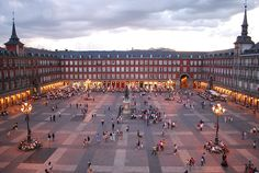 The Plaza Mayor, Madrid, Spain