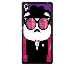 Panda Style TATUM-8393 Sony Phonecase Cover For Xperia Z1, Xperia Z2, Xperia Z3, Xperia Z4, Xperia Z5