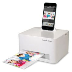 IPhone 5 photo printer - I totally need this!
