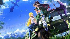 Download GATE Anime Tuka Luna Marceau Youji Itami Rory Mercury Lelei La Lelena 3840x2160