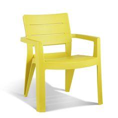 Allibert blokstoel Ibiza geel | Tuinstoelen | Tuinmeubelen | Tuin | GAMMA Ibiza, Terrace, Home And Garden, Chair, Gamma, Modern, Furniture, Home Decor, Health