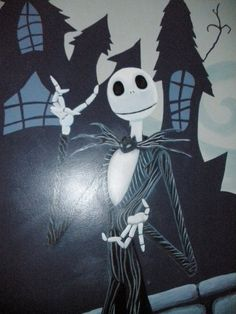 nightmare before christmas mural bixby oklahoma