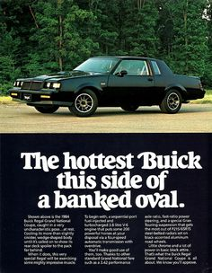 1984 Buick Regal Grand National Coupe