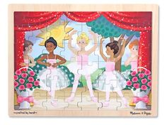Ballet Performance Wooden Jigsaw Puzzle | Melissa and Doug Educational Toys