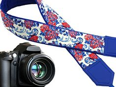 Camera strap flowers. Blue and red roses strap. Bright ca... https://www.amazon.com/dp/B01LYCGRRD/ref=cm_sw_r_pi_dp_x_21s7xb2DPK65R