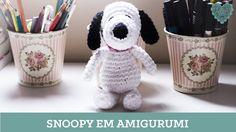 Criações em Crochê: Snoopy   Luciana Ponzo