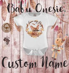 Baby Onesie body dogs lovers Boho Hipster style