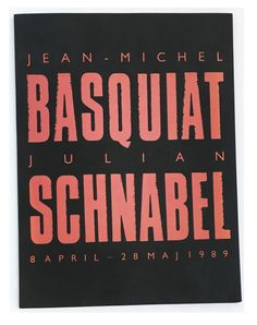 julian schnabel an exhibition catalogue