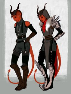 TIEFLING, Rogue/Mage, Female