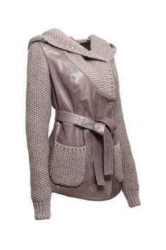 Sweater Jacket, Blazer Jacket, Remake Clothes, Sweater Refashion, Lookbook, Winter Accessories, Crochet Fashion, Winter Outfits, Knitwear