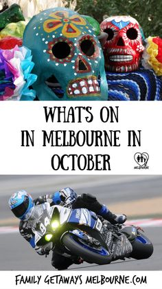 The Melbourne Calendar October events page shares information regarding things to do in Melbourne and the outer regions during the month of October